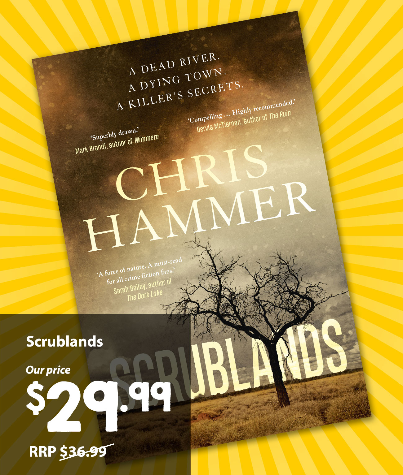 The Book SCRUBLANDS BY CHRIS HAMMER Is